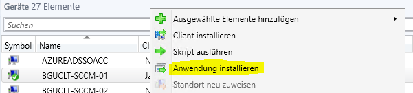 Install Application Feature in SCCM 1906